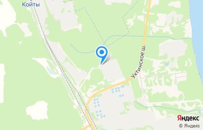 Местоположение на карте пункта техосмотра по адресу г Сыктывкар, ш Ухтинское, д 35/30