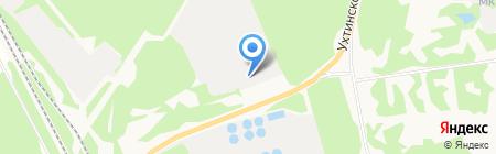 Буран на карте Сыктывкара