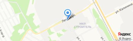 Строительная компания ПИК на карте Сыктывкара