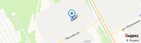 СевЛесПил на карте Сыктывкара