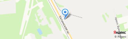 Кировчермет на карте Сыктывкара