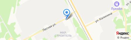АВТОритет на карте Сыктывкара