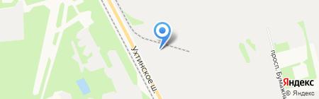 Локомотив на карте Сыктывкара