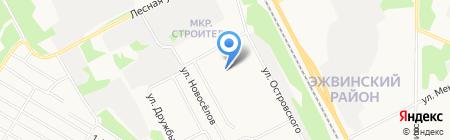 Детский сад №11 на карте Сыктывкара