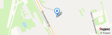 ЭЛАЙН логистикс на карте Сыктывкара