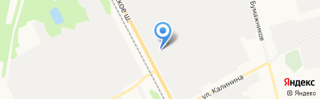 Эжвавторсырье на карте Сыктывкара