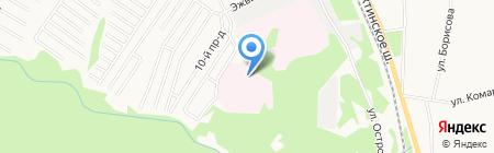 Эжвинский психоневрологический интернат на карте Сыктывкара