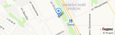 Николаевский на карте Сыктывкара