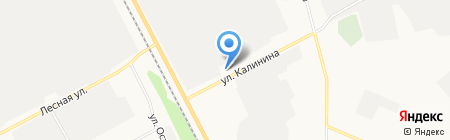 РИО на карте Сыктывкара