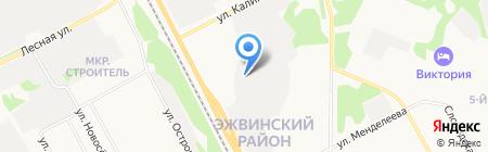 ЛЕТО на карте Сыктывкара