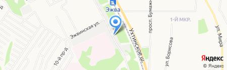 Реставратор на карте Сыктывкара