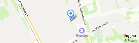 Стройтехкомплект на карте Сыктывкара