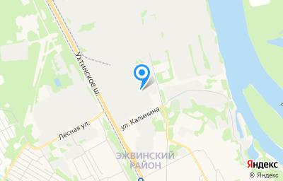 Местоположение на карте пункта техосмотра по адресу г Сыктывкар, ш Ухтинское, д 32/2