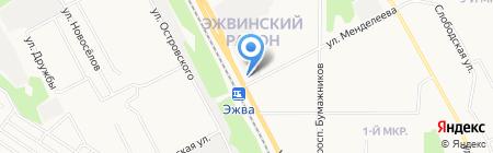 Малышка на карте Сыктывкара