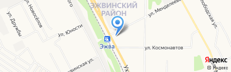 Выльтор плюс на карте Сыктывкара