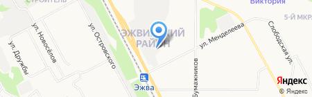 АвтоКристалл на карте Сыктывкара