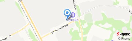 Автомагистраль Север на карте Сыктывкара