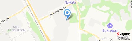 Транспортное предприятие на карте Сыктывкара