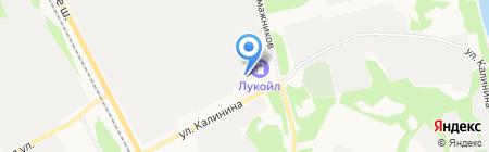 АТЗ на карте Сыктывкара