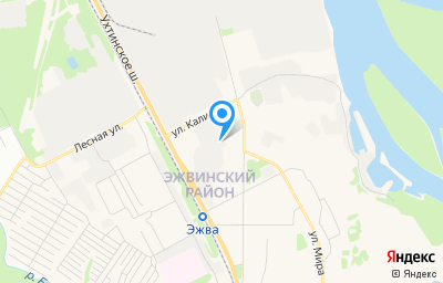 Местоположение на карте пункта техосмотра по адресу г Сыктывкар, ул Калинина, стр 19