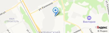 Пассажирские линии на карте Сыктывкара