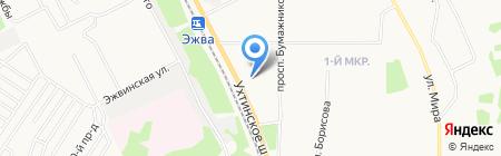 Вентпроект на карте Сыктывкара