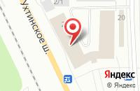Схема проезда до компании Комиэнергозащита в Сыктывкаре