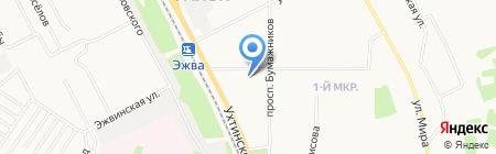 Автогарант на карте Сыктывкара