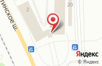 Схема проезда до компании SANTA LUCIA в Сыктывкаре