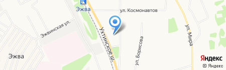 SANTA LUCIA на карте Сыктывкара