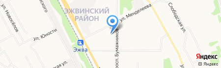 Сыктывкарский поисково-спасательный отряд на карте Сыктывкара