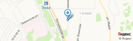 Интерьер Автоваз на карте Сыктывкара