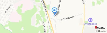 Строймехавто на карте Сыктывкара