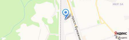 ЖЭУ-5 на карте Сыктывкара