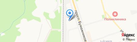 Пожарная часть №13 на карте Сыктывкара