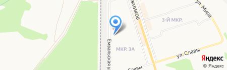 Гермес на карте Сыктывкара