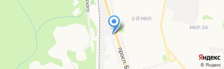 Круглосуточная служба помощи на дорогах на карте Сыктывкара