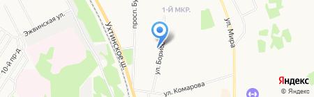 Банкомат Газпромбанк на карте Сыктывкара
