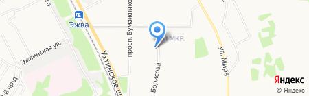 Отдел полиции №2 на карте Сыктывкара