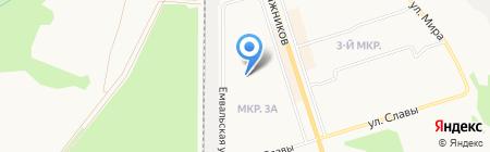 Детский сад №105 на карте Сыктывкара