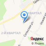 Администрация сельского поселения Зеленец на карте Сыктывкара