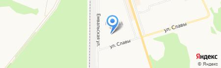 Федерация бодибилдинга на карте Сыктывкара