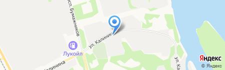 ПромБытСтрой на карте Сыктывкара
