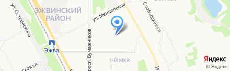 Эжвинская детская музыкальная школа на карте Сыктывкара