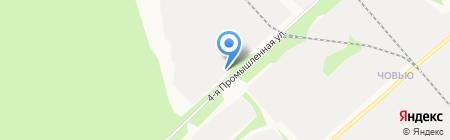 Агрохим на карте Сыктывкара