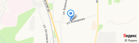 Мираж на карте Сыктывкара
