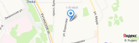 Термокерамика на карте Сыктывкара