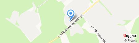 Сыктывкарский оконный завод на карте Сыктывкара