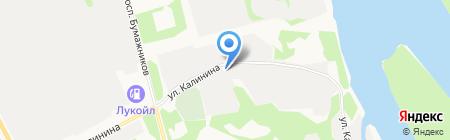 Аккумулятор-Коми на карте Сыктывкара