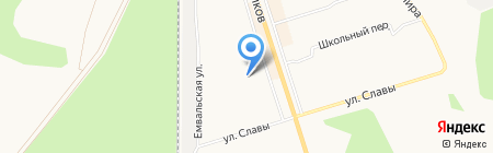 Сармат на карте Сыктывкара